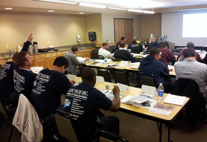 Our technicians receive regular ongoing training.