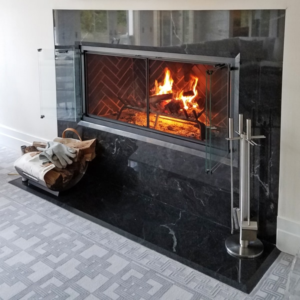 Custom Designed Fireplaces